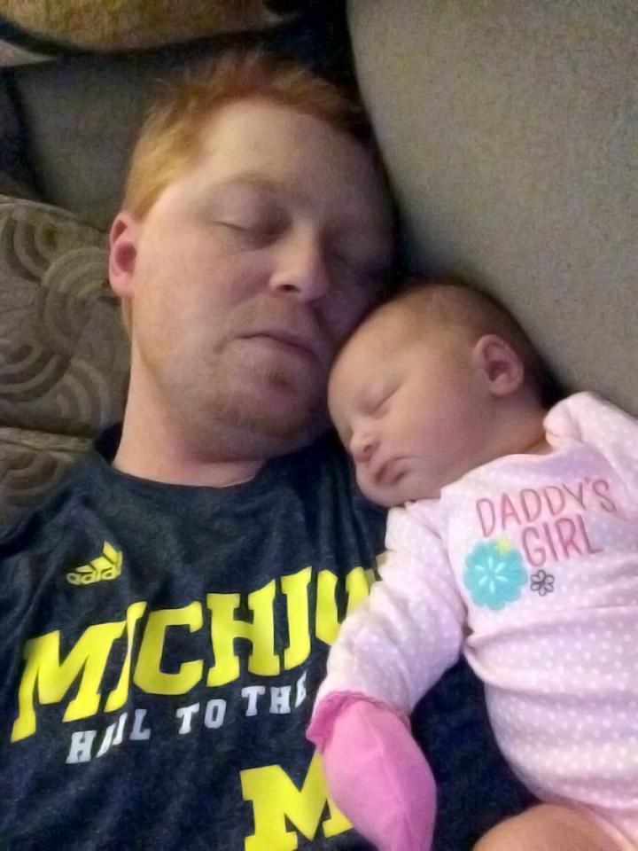 DaddyMayleeSleeping